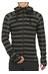 Bergans Humle Jacket Men Dark Grey Striped/Sea Blue